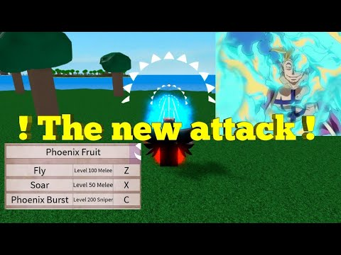 New Phoenix Fruit-One Piece Legendary-Roblox Attack