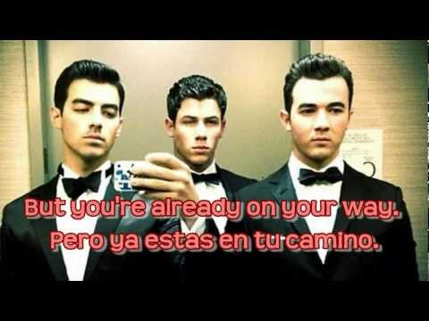 Jonas Brothers - Sorry Lyrics English & Spanish (HD)