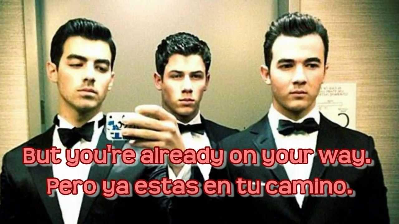 Jonas Brothers - Sorry Lyrics English & Spanish (HD) - YouTube