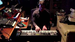 Genesis - In The Cage solo - Hammond SK2 & Moog Voyager