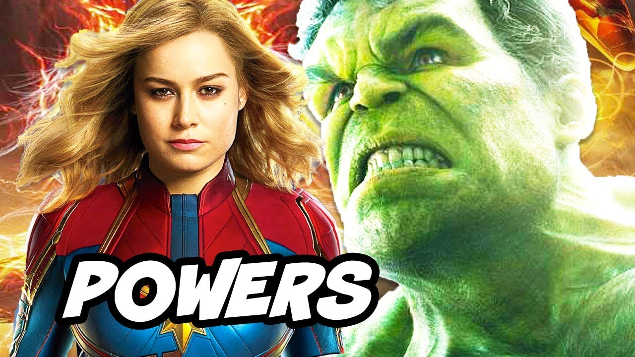 Captain Marvel is Most Powerful Avenger in Avengers Endgame Explained