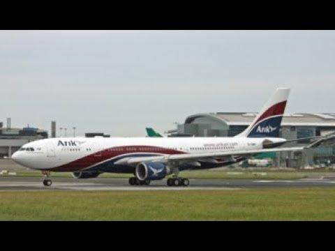 New York JFK (KJFK) to Lagos Murtala Muhammed Intl (DNMM) Arik Air A330-200