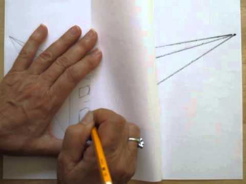 How To Draw A Simple And Easy 2 Point Perspective