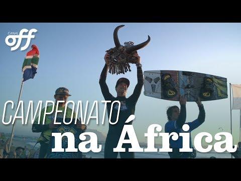 Campeonato na África do Sul com Reno Romeu e JD Edde | Kite Extremo | Canal Off