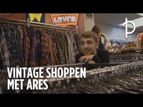 Vintage shoppen met Ares