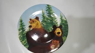 Детский набор 3пр Маша и медведь Interos 199 - обзор