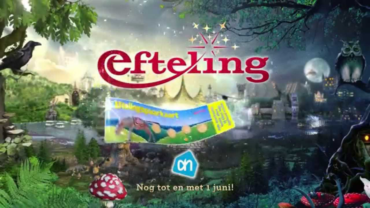 Ah Efteling Spaarkaarten.Lever Voor 1 Juni Een Volle Efteling Spaarkaart In Bij Albert Heijn En Ontvang 10 Korting