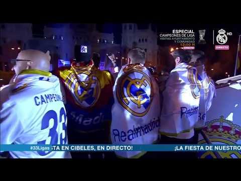 Hala Madrid - Perayaan Para Pemain Madrid ini Super GILA setelah memenangi La Liga 2016/2017