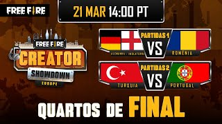[PT] Free Fire Europe Creator Showdown - Quarter-Final Day 2