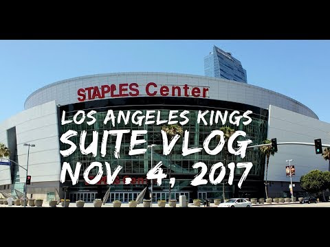 Los Angeles Kings Staples Center Suite Vlog