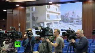 Брифинг Министерства обороны РФ по ситуации в Сирии – LIVE