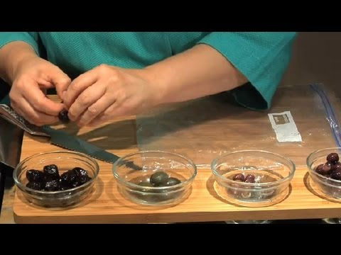 How to Remove an Olive Pit : Tomato Salads & Other Recipes