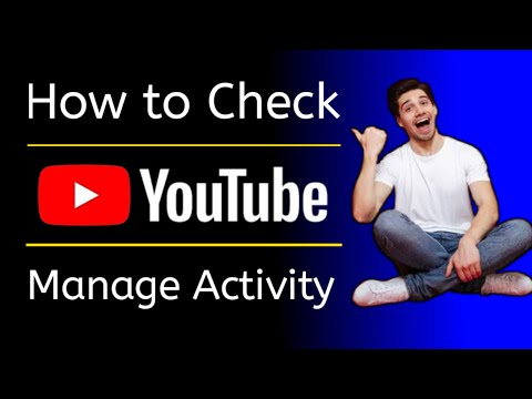 How to See Youtube manage activity | Youtube watch history kaise dekhe | in hindi