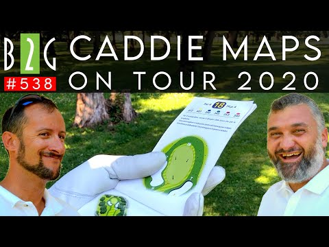 #GOLF CIRCUITO CADDIE MAPS ON TOUR 2020 @ Golf Club Milano & @ Gardagolf Country Club #538