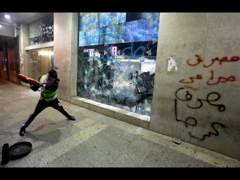 لبنان: هدوء حذر في بيروت إثر صدامات بين المتظاهرين وقوى الأمن مع بداية -أسبوع الغضب-  - 20:00-2020 / 1 / 15