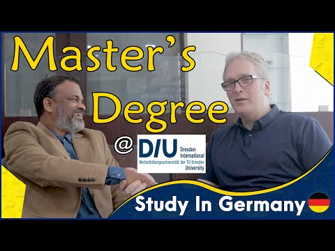Study In Germany | Master's Degree at DIU | Dresden | Germany | Dr. Ulrich Bremer | MD