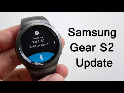 Samsung Gear S2 Update Brings Apps Faces Emojis