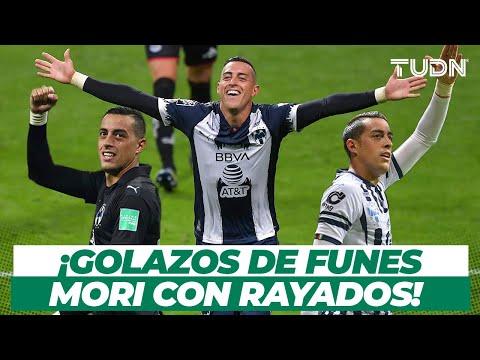 ¡YA ES HISTÓRICO! 5 GOLES INOLVIDABLES de Funes Mori con Rayados | TUDN