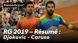 Roland-Garros 2019 : Le résumé de Novak Djokovic - Salvatore Caruso