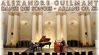 STAATSOPER BERLIN APOLLOSAAL - GUILMANT - DANSE DES SONGES - ARIANE - MUSTEL HARMONIUM & PIANO