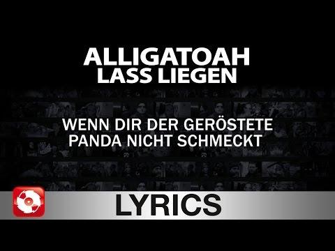 ALLIGATOAH - LASS LIEGEN - AGGROTV LYRICS KARAOKE (OFFICIAL VERSION)