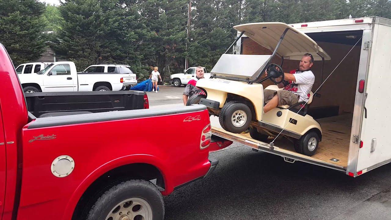 MCM's way how not to load a golf cart - YouTube on golf buggy, golf girls, golf players, golf cartoons, golf hitting nets, golf trolley, golf accessories, golf words, golf games, golf tools, golf card, golf machine, golf handicap,