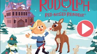 Rudolph the Red-Nosed Reindeer - full TV movie storybook - no staff narratation