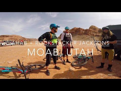 Captain Ahab + Rockstacker + Jackson - Moab, Utah | Mountain Biking