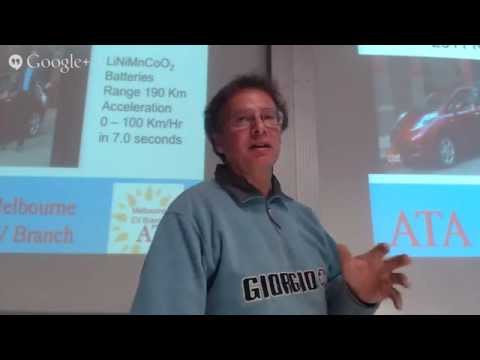 ATA Melbourne EV Branch, April: Current battery technology explained and the future 1000km Metal-...