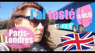 Voyager pas cher : J'ai testé Ouibus ! [ Paris/Londres ]