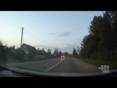 Видеорегистратор ACV GQ314 сумерки трасса/город