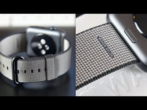 Apple Watch Woven Nylon Band: Review