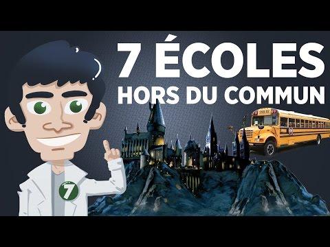 7 écoles hors du commun