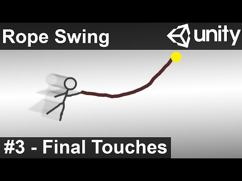 Rope Swing - Unity Tutorial (Part 3)