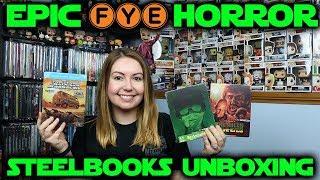 FYE Exclusive Horror Steelbooks Unboxing!