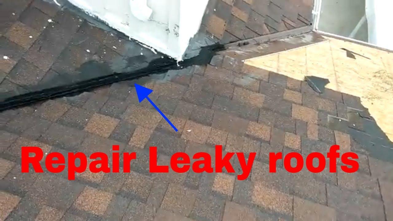 Repairing A Leaky Roof Diy Video Youtube
