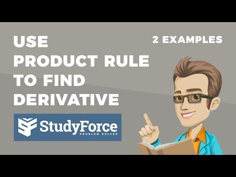 📚 How to use the product rule to find the derivative of a function
