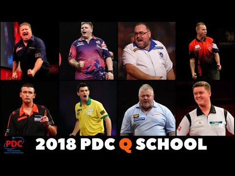 PDC Q SCHOOL 2018 | PLAYERS TO WATCH OUT FOR | HOW IT WORKS | TOUR CARDS | SCHEDULE & LOTS MORE