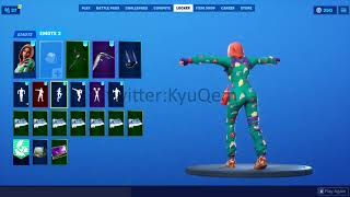 Fortnite *NEW* *LEAKED* PJ Pepperoni skin showcased with Emotes