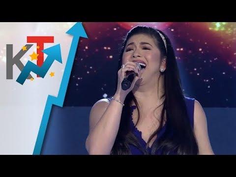 Madlang people naghiyawan sa pagdating ni Idol Philippines judge Regine Velasquez-Alcasid