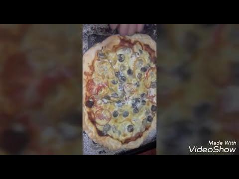 صورة  طريقة عمل البيتزا طريقة عمل البيتزا فى المنزل خطوة بخطوة /بكل اسراره وتكاته طريقة عمل البيتزا من يوتيوب