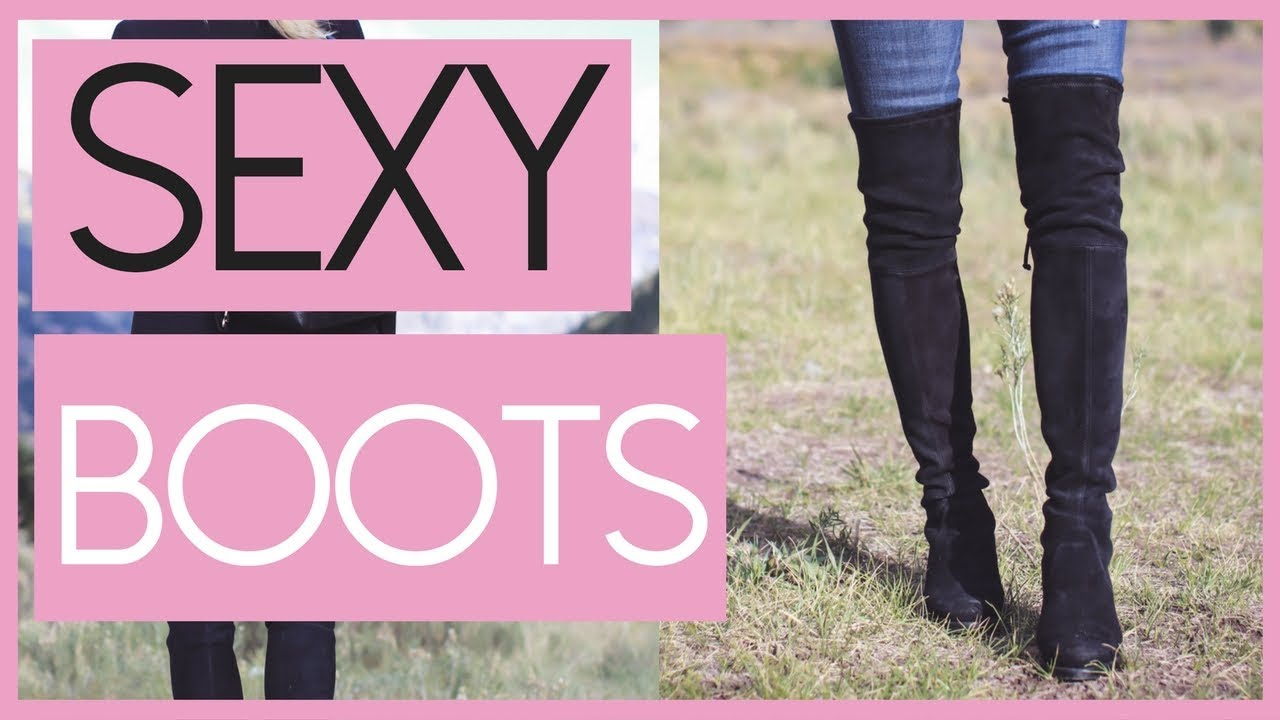 04840b7c295 🔹 How To Wear Over the Knee Boots 🔹 Fashion Over 40 - YouTube