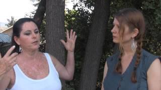 Alia interviews Alexandra King at Ojai Bellydance Festival 2013