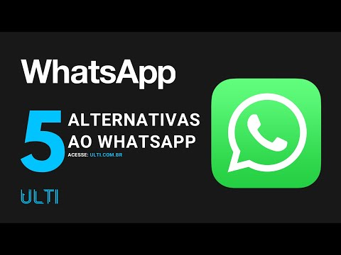 5 Alternativas ao WhatsApp