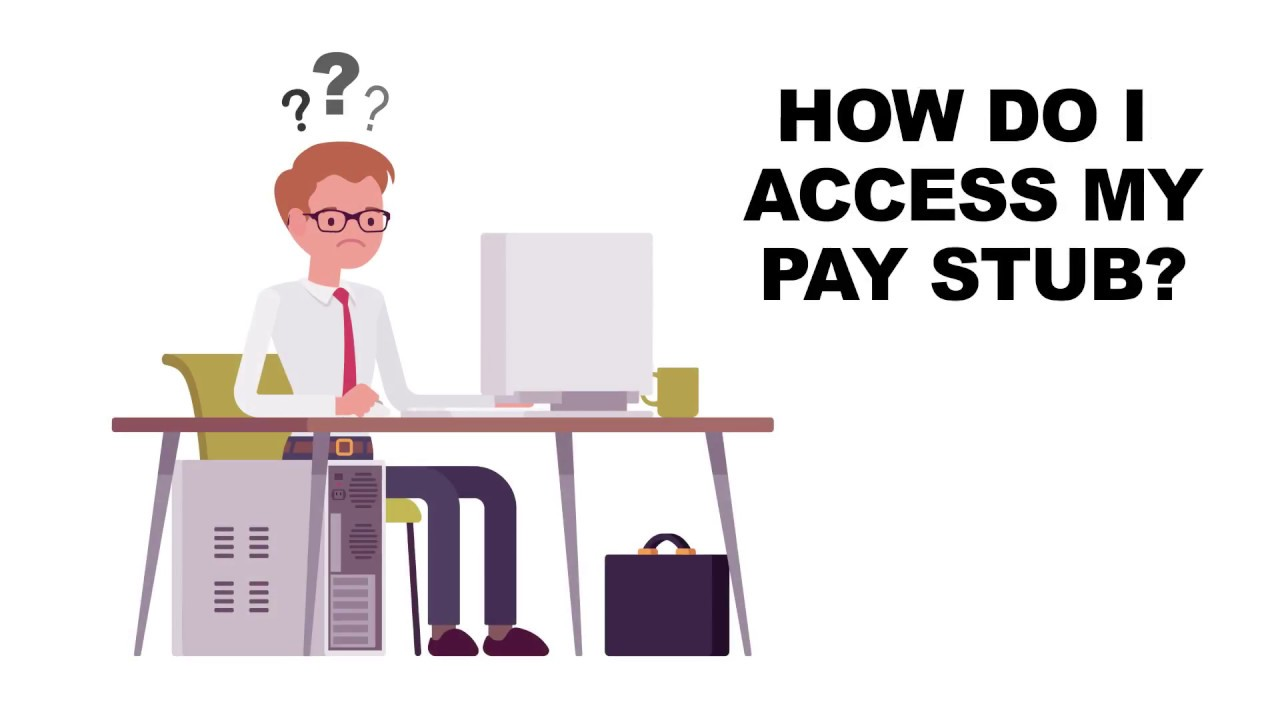 How to access your pay stub - Canada ca