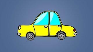 Звуки транспорта для детей. Развивающее видео для детей от 1 года. Карточки Домана