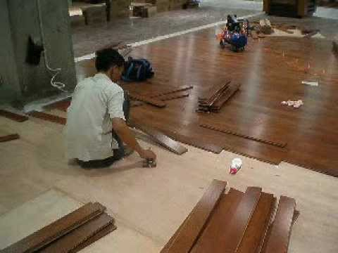 Installing Coconut Wood Flooring Youtube