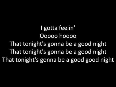Timeflies - I Gotta Feeling Lyrics