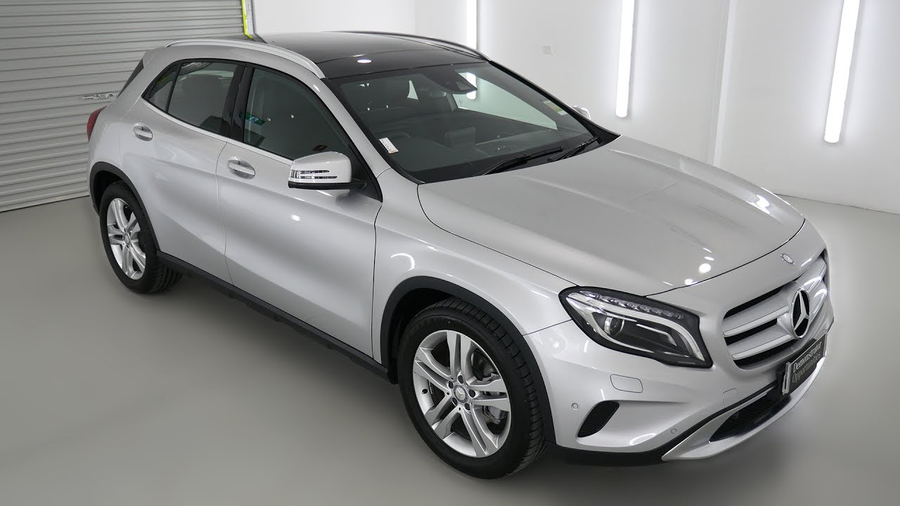 mercedes benz gla 220 d suv polar silver auto m366218 youtube. Black Bedroom Furniture Sets. Home Design Ideas