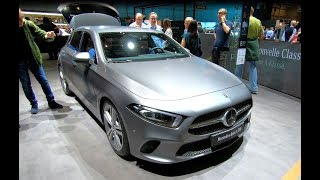 MERCEDES BENZ A CLASS A200 NEW MODEL 2018 WALKAROUND + INTERIOR
